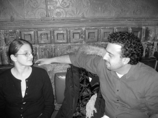 Sticky co-founder Libby Emmons & Matt Korahais