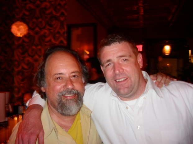 playwright Dennis Moritz & actor Jim Boyle