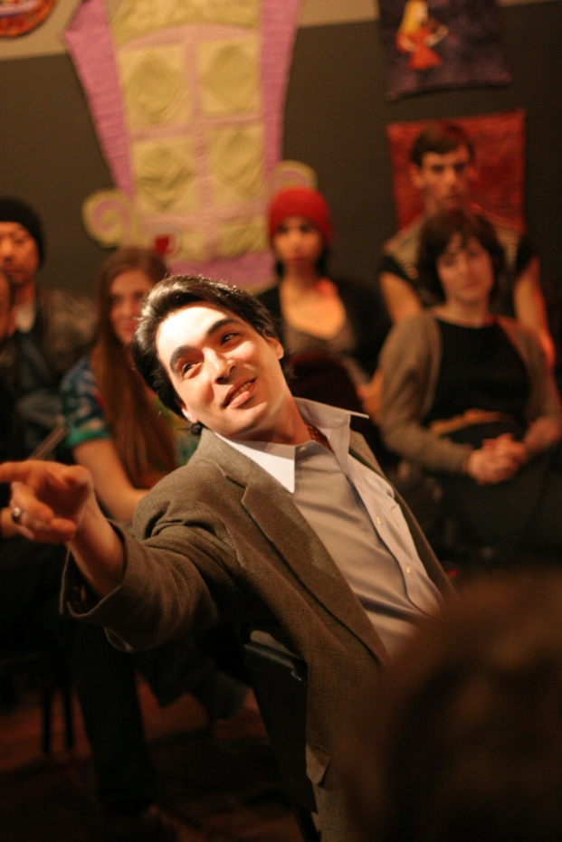 David Marcus in Drew Hildebrand's A Matter of Measurements, directed by Deborah Wolfson