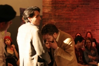 David Marcus & Austin Nixon in Drew Hildebrand's A Matter of Measurements, directed by Deborah Wolfson